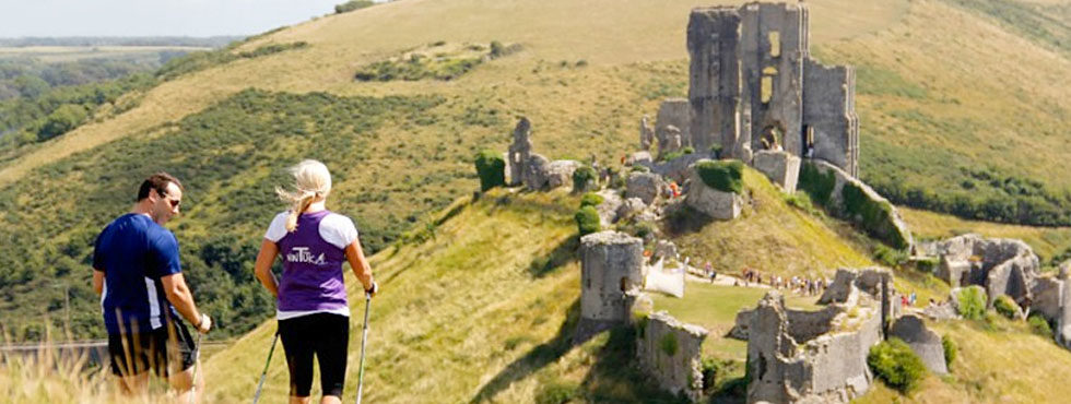 Nordic Walking in Corfe Castle
