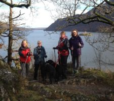 Ullswater Way in the Lake District – Nordic Walking Holiday