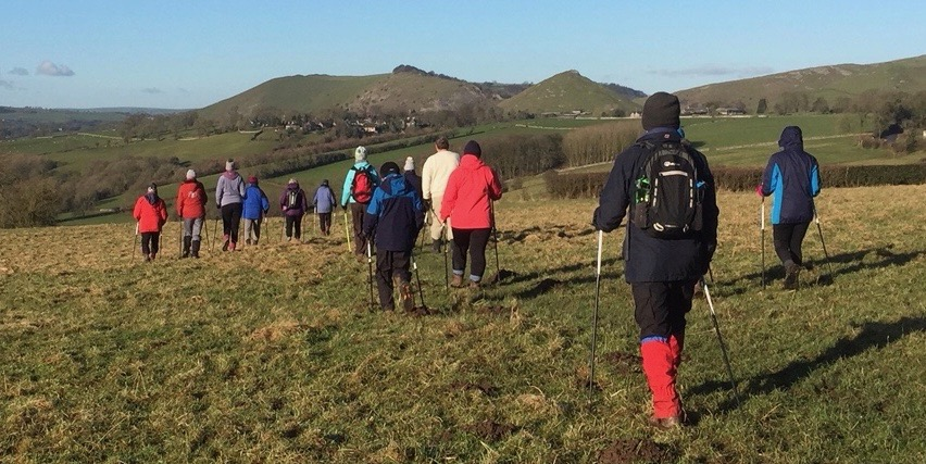 NWUK Rustic Weekender Nordic walking taster in Thorpe